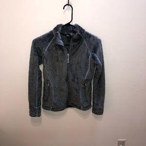 Gray Marmot Teddy Bear Fleece Jacket